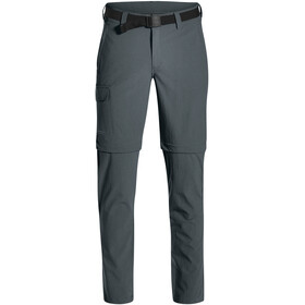 Maier Sports Torid Slim Zip Off Pants Men graphite